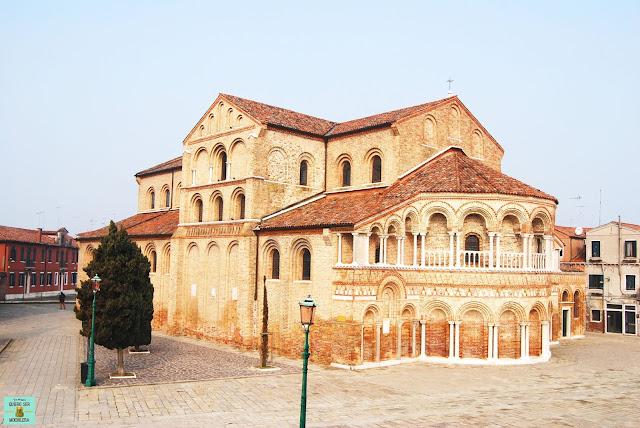 Basílica de Santi Maria e San Donato en Murano, Venecia
