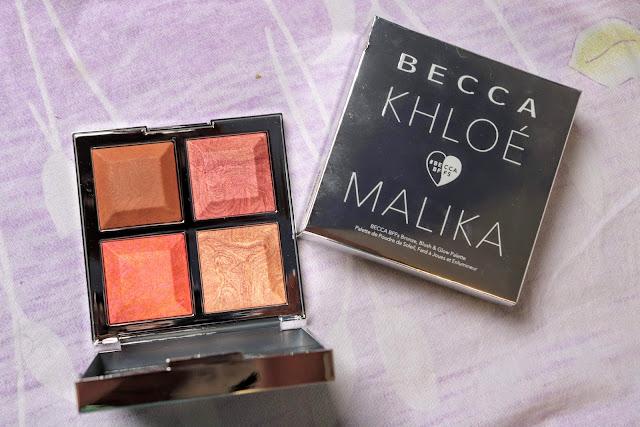 palette Becca Malika Khloe Kardashian