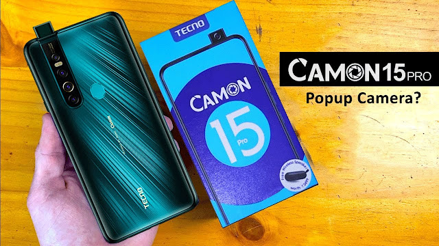 TECNO CAMON 15 PRO LAUNCHES IN PAKISTAN