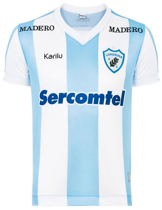 11bbd08adc602 Karilu apresenta novas camisas do Londrina - Show de Camisas