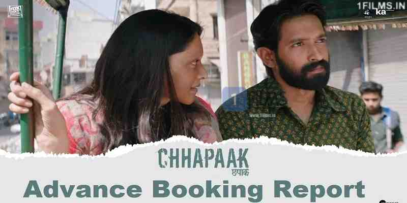 Chhapaak Advance Booking Report Poster