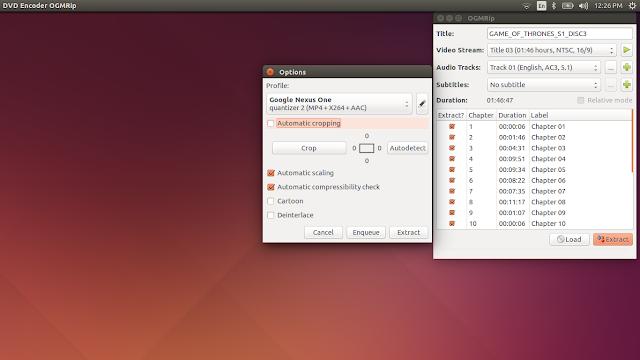 Como instalar o OGMRip no Ubuntu. Linux Mint e derivados!