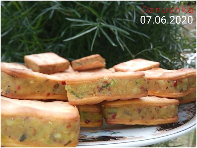 ක්රීම් ක්රැකර් බිස්කට් වලින් කට්ලට් (Cream Cracker Biscuits Cutlet)