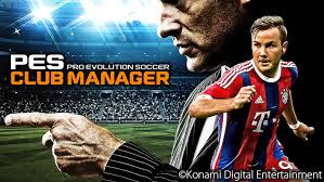 latest pes club manager for android phones