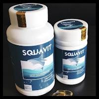 Bermutu Minyak Hati Ikan Squalene Fish Liver Oil Omega Squa Squavit 40 Softgel Promo Special