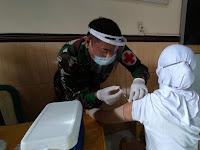 Vaksinasi Covid-19 (Astra Zeneca) Hari Ini Serbu PNS Kodim 0802/Ponorogo