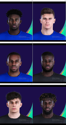PES 2021 New FacePack by Miki