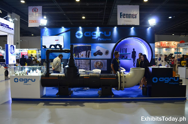 Agru Philippines Exhibit Booth