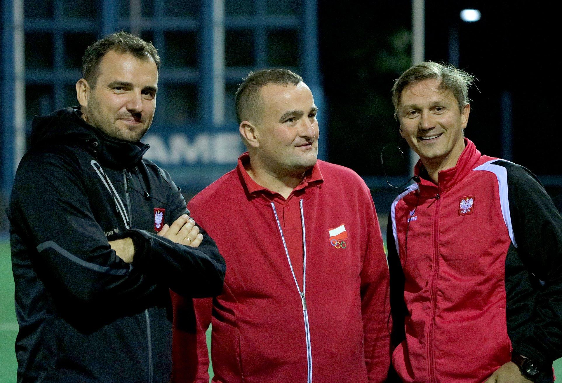 Krzysztof Rachwalski na treningu | foto: Paweł Siczyński / Polski Związek Hokeja na Trawie