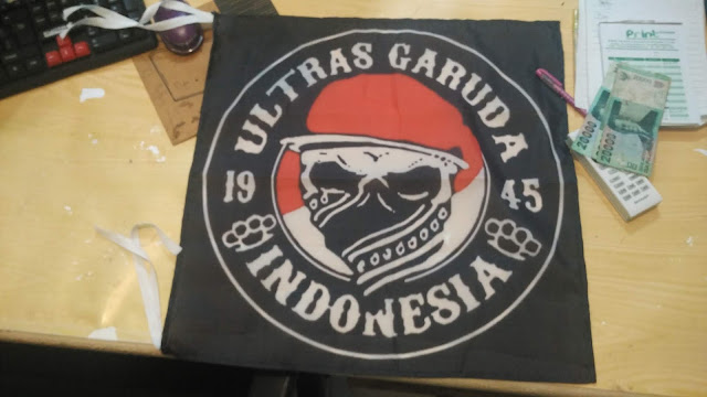 Bendera Ultras Garuda