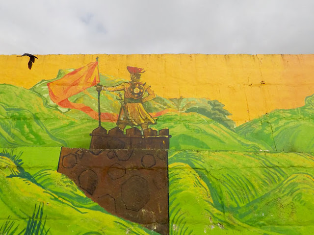 song of city pune street art yerwada jail airport road