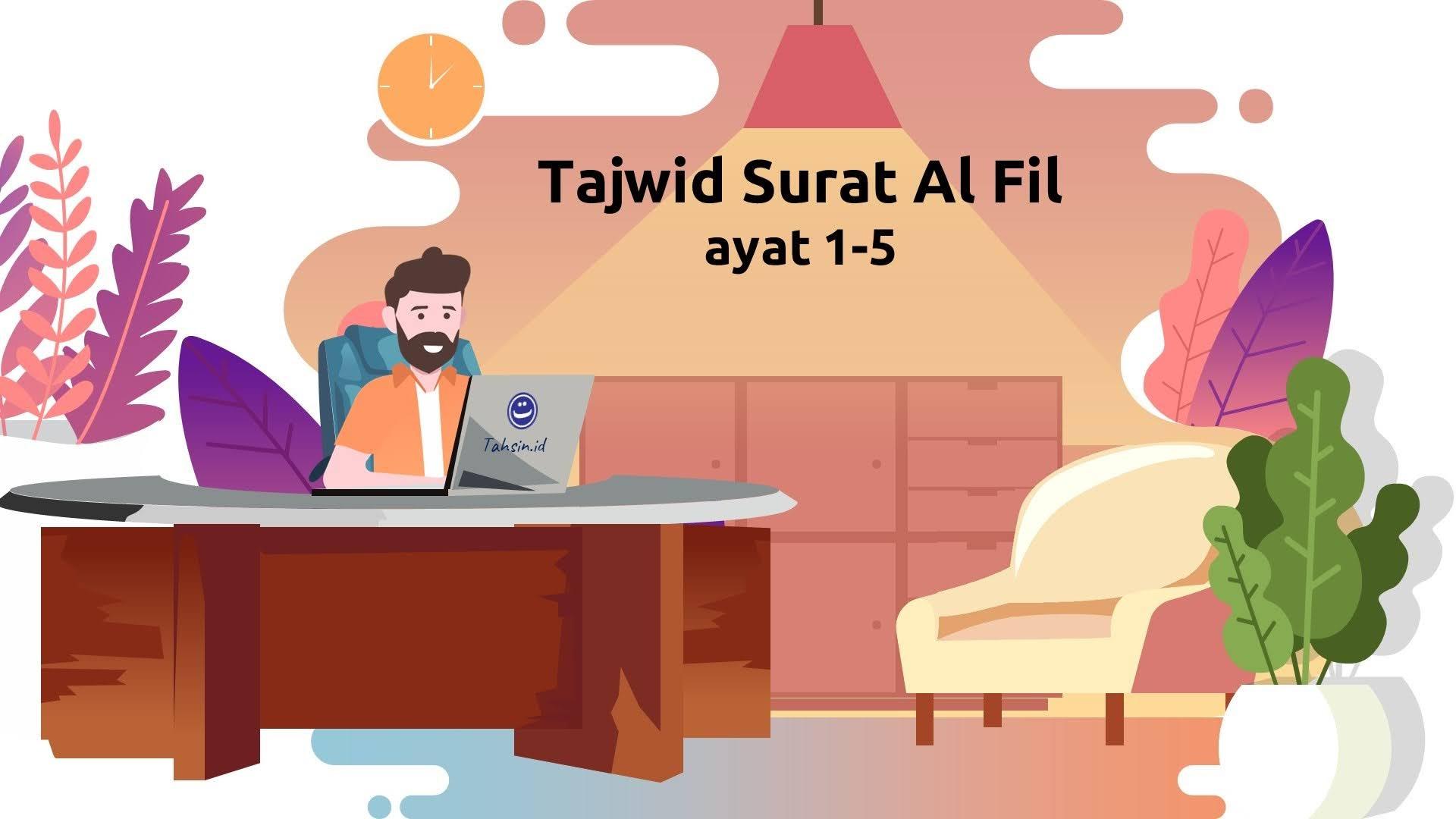 tajwid-surat-al-fil