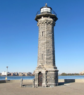 Blackwell Island Lighthouse in New York City