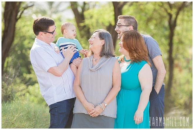 Maui Morning Family Portrait