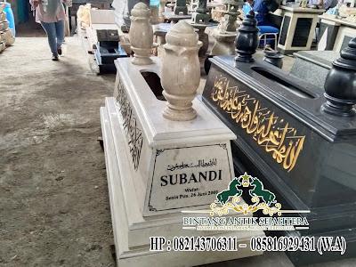 Kijingan Batu Marmer Islam