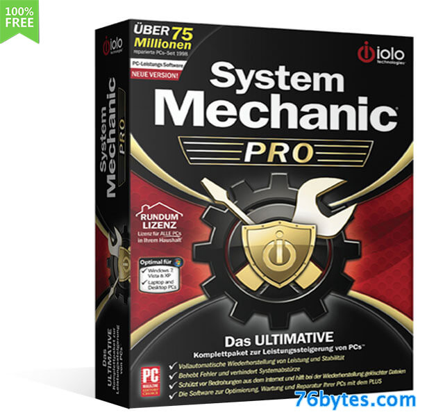 System Mechanic Pro 16 Serials Precrack No Trial Version