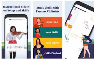 تطبيق ترالا Trala: Learn Violin لتعلم آلة الكمان للاندرويد والايفون