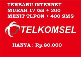 Paket INTERNET Murah 17 GB
