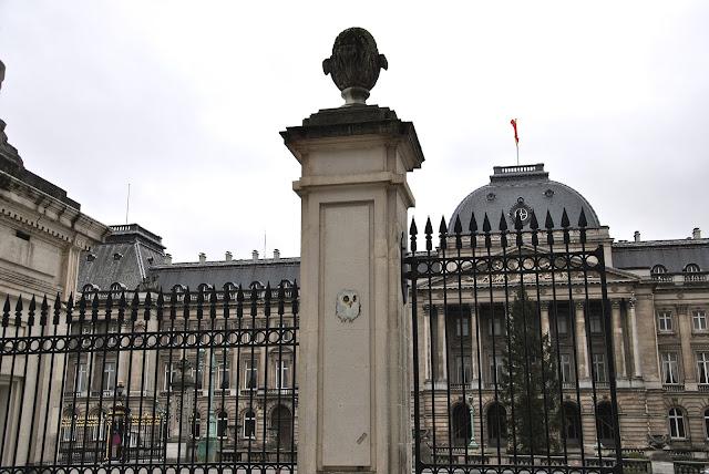 Der Königliche Palast (Koninklijk Paleis, Palais Royal) in Brüssel