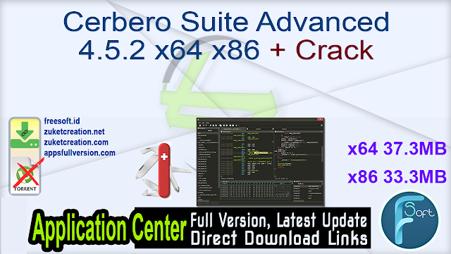 Cerbero Suite Advanced 4.5.2 x64 x86 + Crack