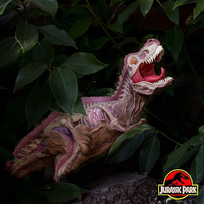 Designer Con 2018 Exclusive Jurassic Park 25th Anniversary Anatomy of the Tyrannosaurus Rex Vinyl Figure by NYCHOS x 3DRetro