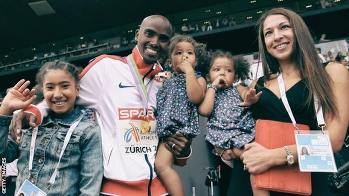 Mo Farah was 'humiliated' by airline attendant, claims wife Tania