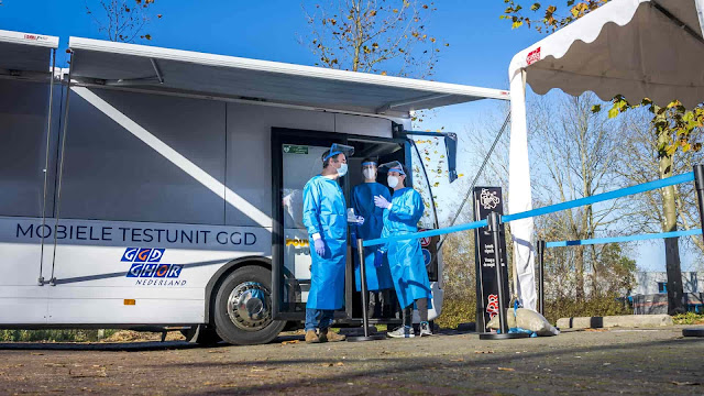 انخفاض مستمر بأرقام اصابات كورونا في هولندا للأسبوع الثالث على التوالي