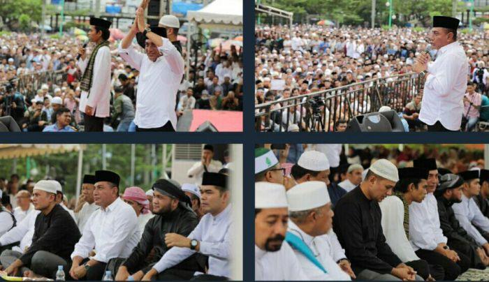 Beda Dengan Jateng, Di Medan UAS Justru Disambut Oleh Gubernur Edy Rahmayadi