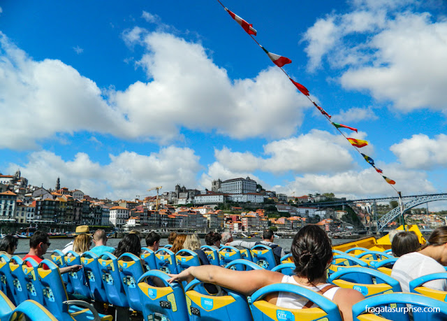 Passeios de barco no Rio Douro, Porto, Portugal