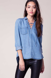 Chambray Shirt- fashion essentials for college girls