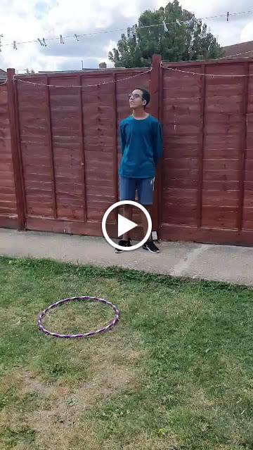 Hula Hoop Jumping!