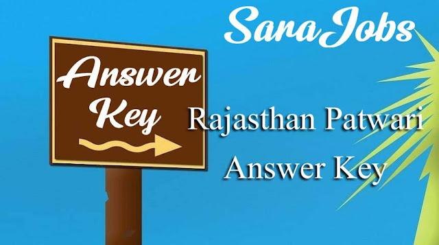 Rajasthan Patwari Answer Key