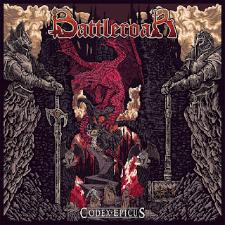 "Το τραγούδι των Battleroar ""We Shall Conquer"" από το album ""Codex Epicus"""