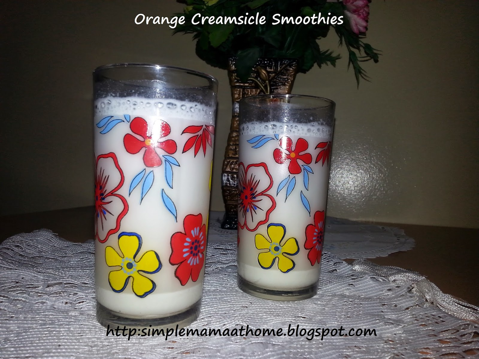 Orange Creamsicle Smoothies