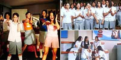 Model Seragam Siswa SMA Tahun 2000 Awal Era AADC
