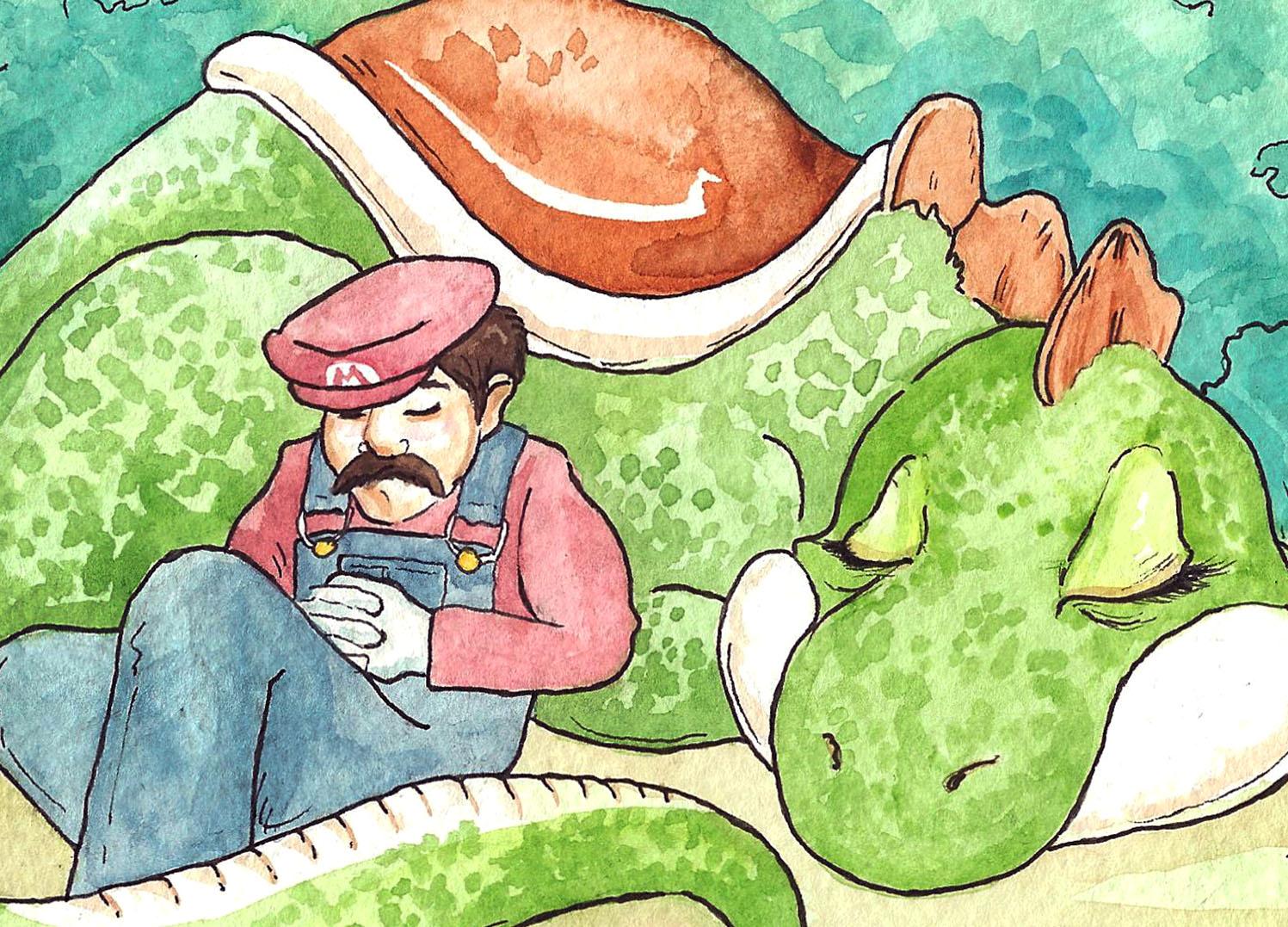 Georgia Dunn Studio: Mario, Yoshi, and the Seattle Retro Gaming Expo