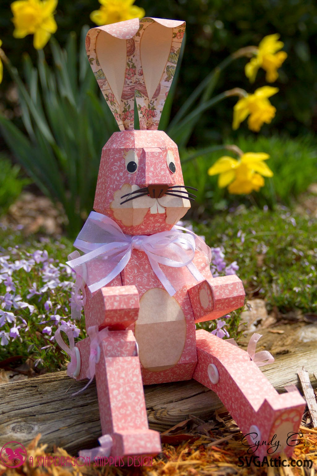 3d Jointed Paper Bunny