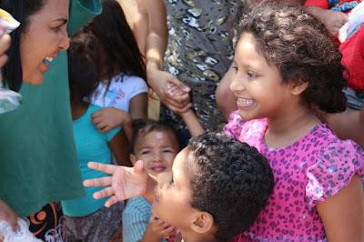 Colaboradores fazem o dia das crianças mais feliz!