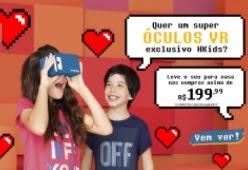 Promoção Henrig Kids Dia das Crianças 2017 Ganhe Óculos Realidade Virtual
