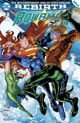 Rebirth | Aquaman - Unaufhaltsam | DC - Comic | Panini-Verlag
