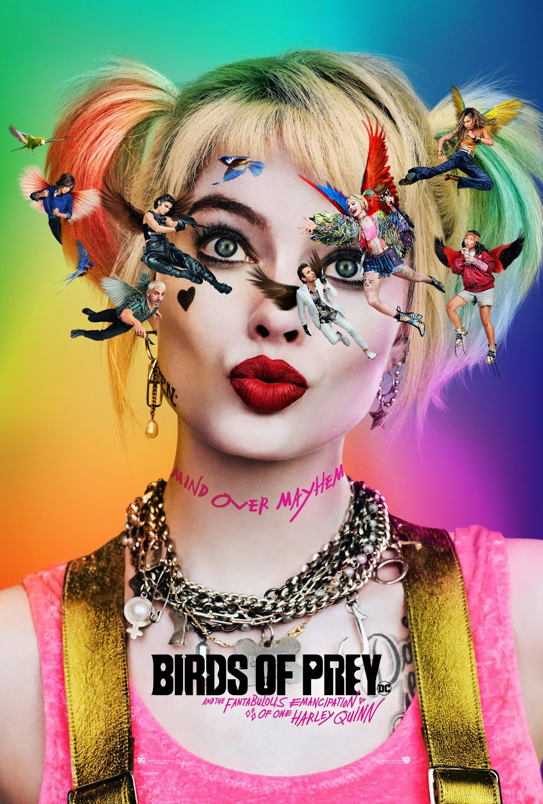 Birds of Prey [2020] [DVDR] [NTSC] [Latino]