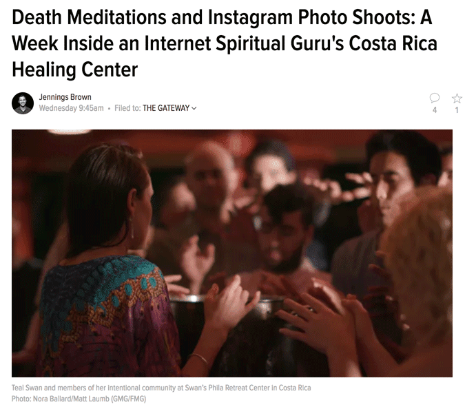 Death Meditations and Instagram Photo Shoots A Week Inside an Internet Spiritual Guru's Costa Rica Healing Center