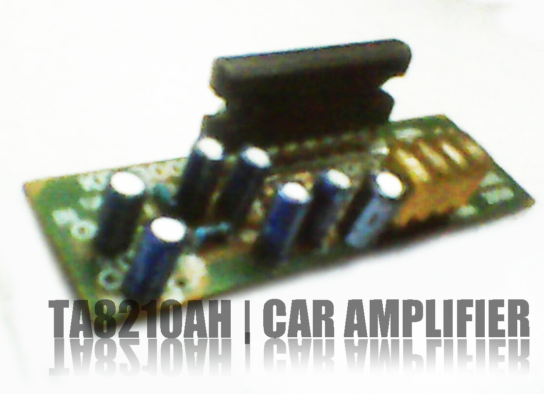 Audio Amplifier Circuit Using Tda2822
