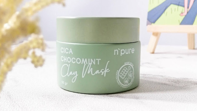 N'PURE-Cica-Chocomint-Clay-Mask