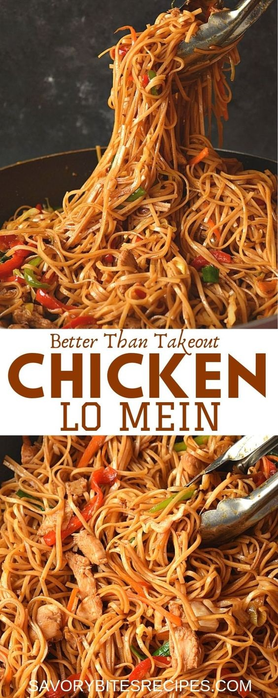 The 30-Minute Ultimate Spicy Chicken Lo Mein Recipe