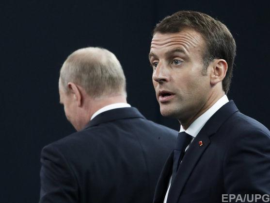 Макрон передумав запрошувати Путіна на саміт Великої сімки