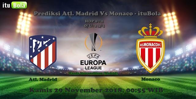 Prediksi Atl. Madrid Vs Monaco - ituBola