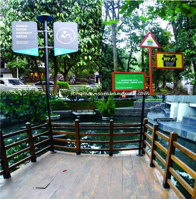 Menikmati Panorama Sore Hari di Taman Lansia