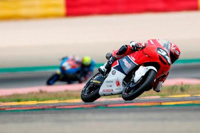 Mario Suryo Aji sukses amankan 6 poin di CEV Moto3 Aragon