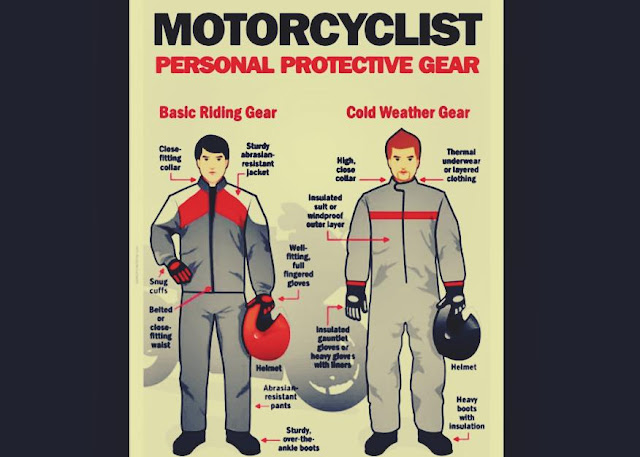 tips sehat aman mengendarai motor jarak jauh